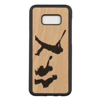 Baseball Carved Samsung Galaxy S8+ Case