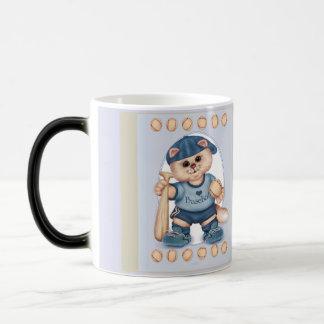 BASEBALL CAT CUTE FUN Morphing Mug 3 - 11 onz