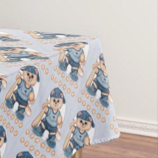 """BASEBALL CAT Tablecloth COLOR LIPS 60""""x84"""""""