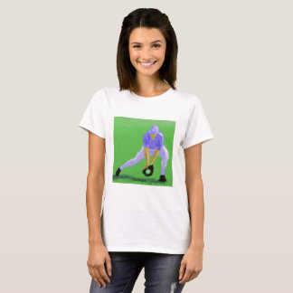 Baseball Catch Art T-Shirt
