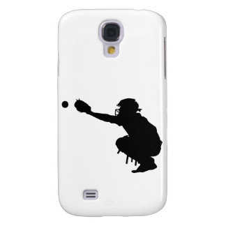 Baseball Catcher Galaxy S4 Cover
