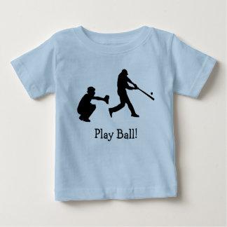 Baseball Catcher Pitcher Sports Baby T-Shirt