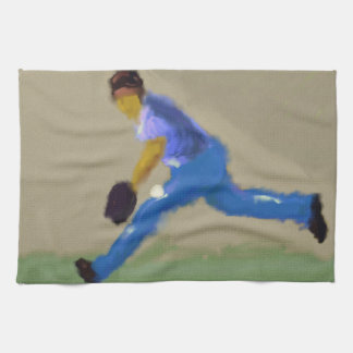 Baseball Champions Art Tea Towel