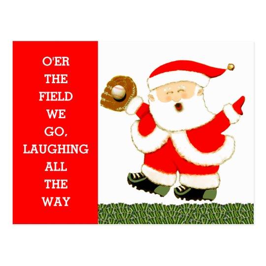 Baseball Christmas cards