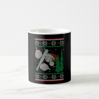 Baseball Christmas Coffee Mug