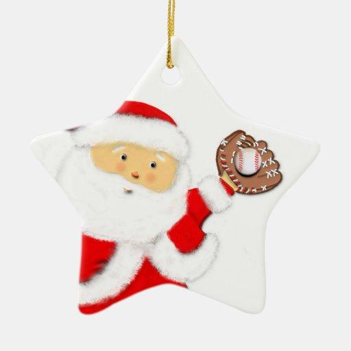 baseball Christmas gift Christmas Tree Ornaments
