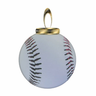 Baseball Christmas Ornament Photo Sculpture Decoration