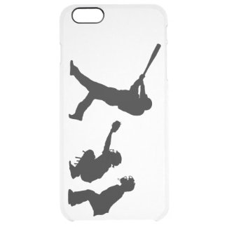 Baseball Clear iPhone 6 Plus Case