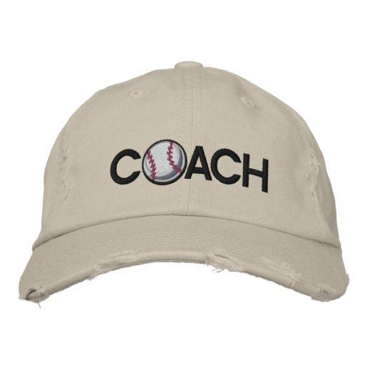 Baseball Coach Baseball Cap