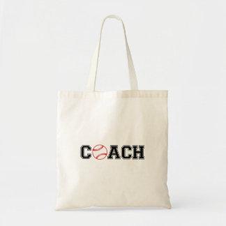 Baseball Coach Tote Bag