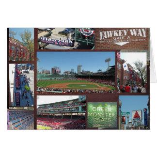 Baseball Collage Card