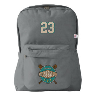 Baseball. Custom Player Number. Your Official Backpack