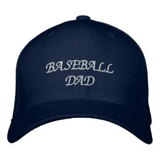 Baseball Dad Embroidered Baseball Caps