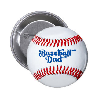 Baseball Dad Gift Button