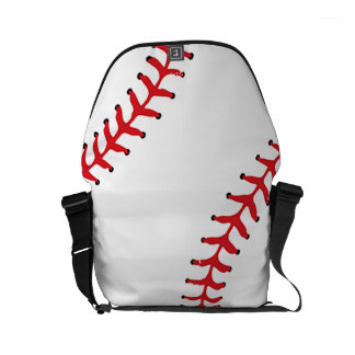 Baseball Design Rickshaw Bag Commuter Bag