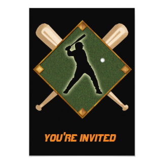 Baseball Diamond Batter 1 Card