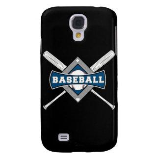 baseball diamond logo gray blue white samsung galaxy s4 covers