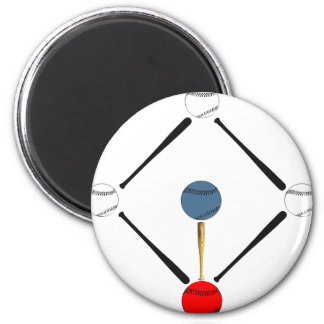 Baseball Diamond Fridge Magnets