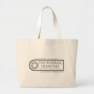 Baseball Diamond Mallory Gallery Large Tote Bag
