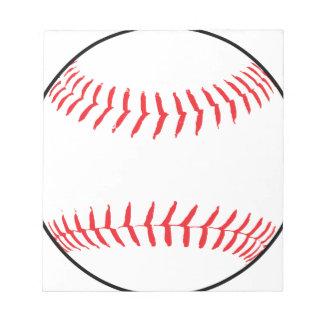 Baseball Drawing Notepad
