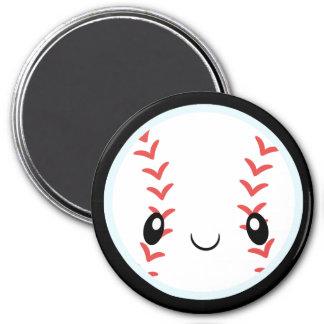Baseball Emojis 7.5 Cm Round Magnet
