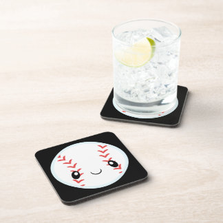 Baseball Emojis Beverage Coasters