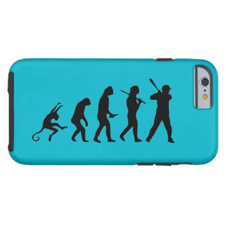 Baseball Evolution - Funny iPhone 6 Cases Tough iPhone 6 Case