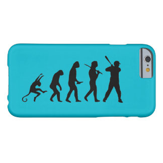 Baseball Evolution - Funny iPhone 6 Cases Barely There iPhone 6 Case