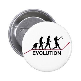 Baseball Evolution Pin