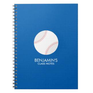 Baseball Fan Notebooks