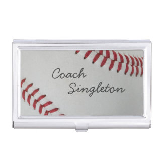 Baseball Fan-tastic_pitch perfect_Personalized Business Card Holder