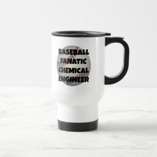 Baseball Fanatic Chemical Engineer Travel Mug