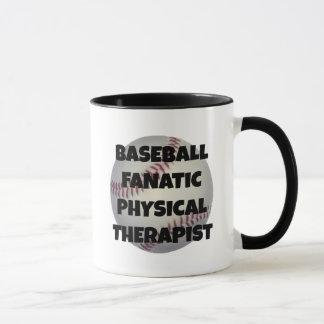 Baseball Fanatic Physical Therapist Mug