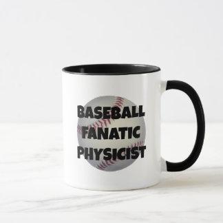 Baseball Fanatic Physicist Mug
