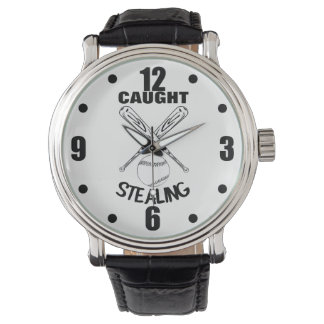 Baseball Fans Funny Humor Quote  Baseball Graphic Watch