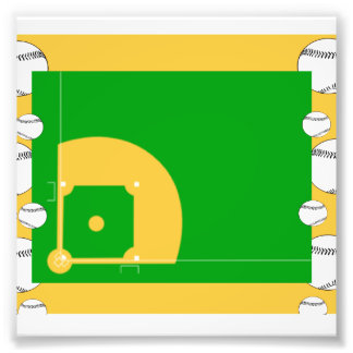 Baseball Field Photo Print