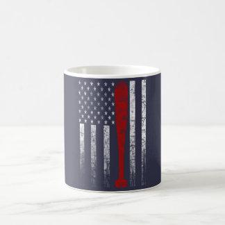 Baseball Flag Coffee Mug
