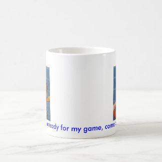 Baseball game, boy,dog mugs