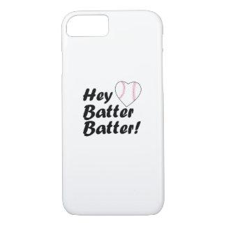 Baseball Gift  Hey batter batter iPhone 8/7 Case