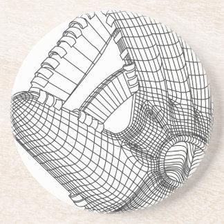 baseball glove coasters