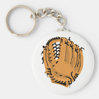 Baseball Glove Key Ring