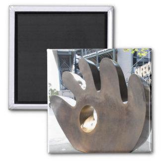 Baseball Glove Sculpture magnet