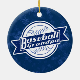 Baseball Grandpa Holiday Decoration