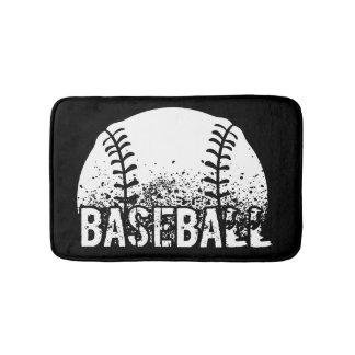 Baseball Grunge Bath Mat