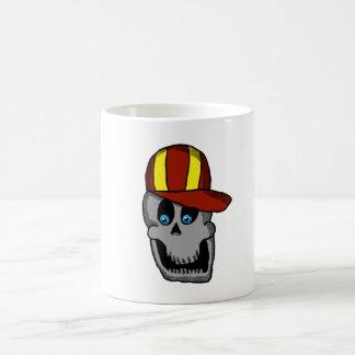 Baseball Hat Skull mug