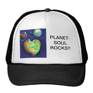 Baseball HatPLANET-SOUL ROCKS!! Cap