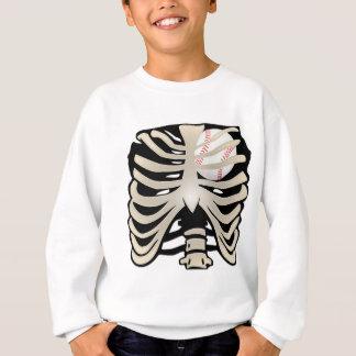 Baseball Heart Sweatshirt