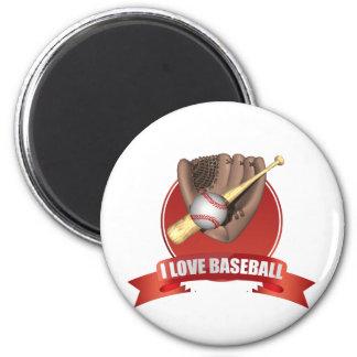 Baseball iGuide 6 Cm Round Magnet