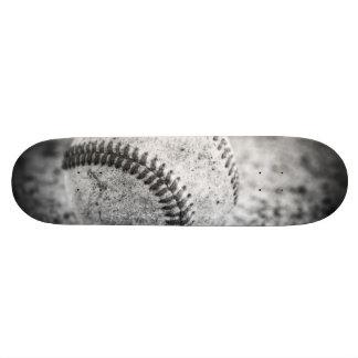 Baseball in Black and White 20 Cm Skateboard Deck
