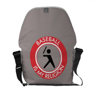 BASEBALL ISMY RELIGION COURIER BAGS